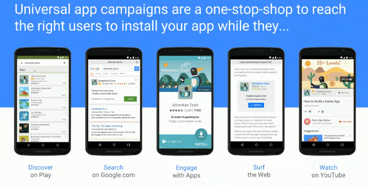 Universal App Campaigns