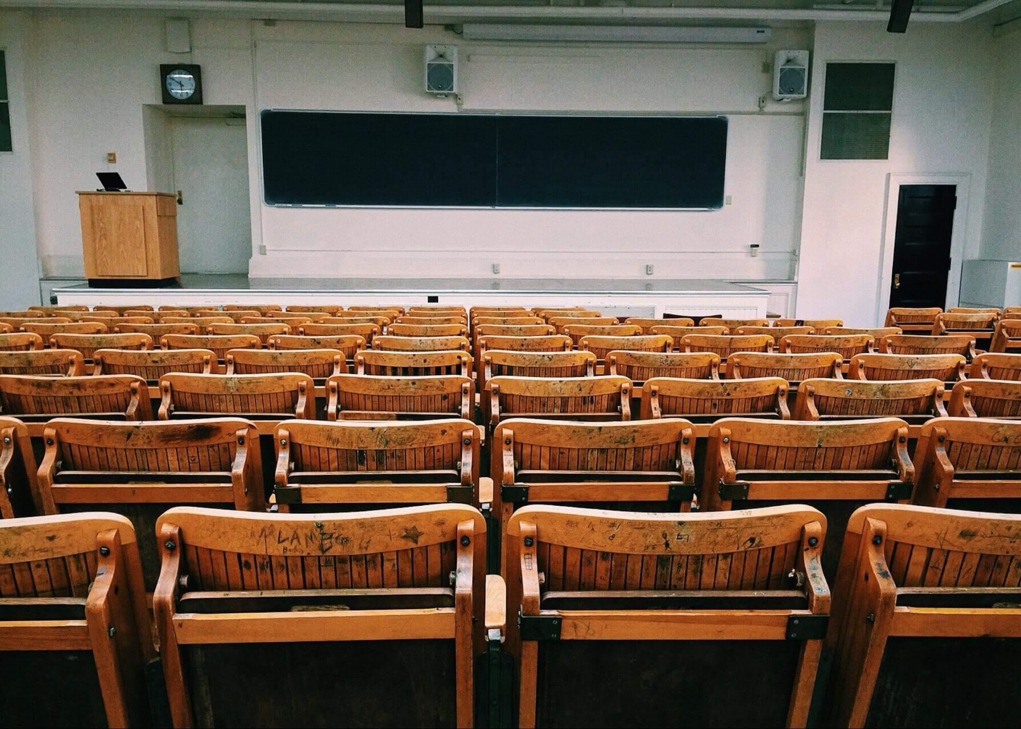 bachelor of business classroom