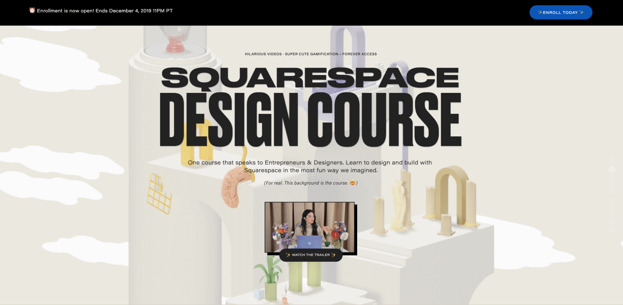 squarespace design course