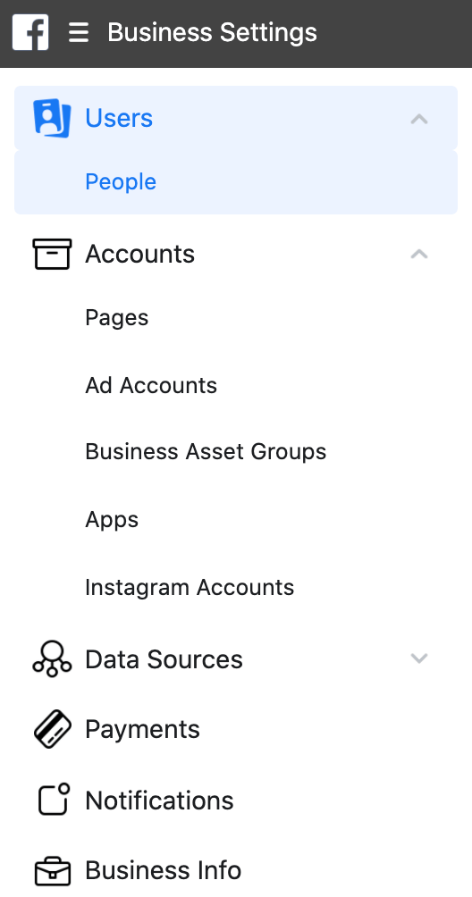 Business Settings-Users
