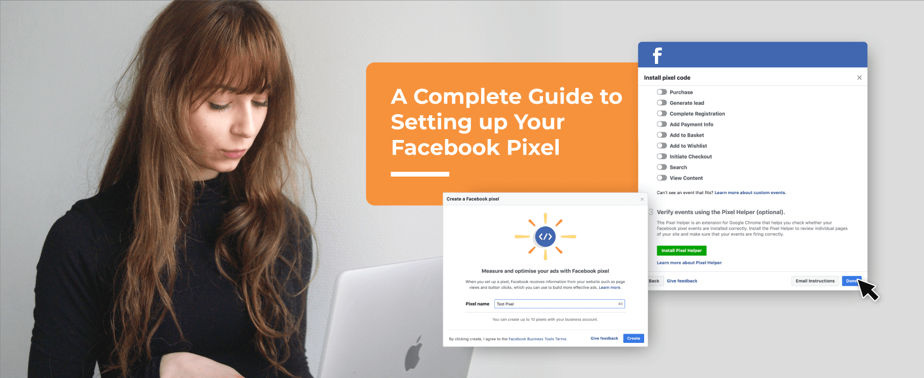 a complete guide to setting up your facebook pixel